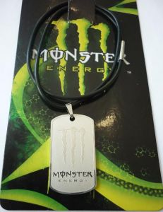"Медальон на шею ""Monster"" ― MOTOCROSS-PARTS.RU"