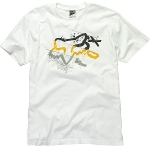Футболка FOX Three Minutes Tee WHITE -30%